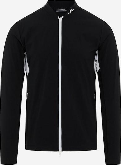 J.Lindeberg Sportjas 'KV Hybrid' in de kleur Zwart / Wit, Productweergave