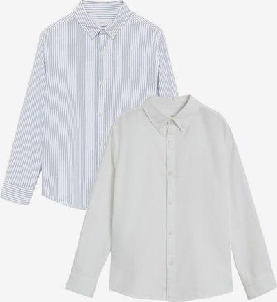 MANGO KIDS Overhemd in de kleur Blauw / Wit, Productweergave
