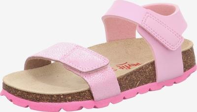 SUPERFIT Sandale in hellpink / silber, Produktansicht
