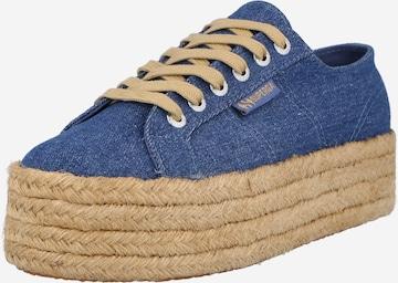 SUPERGA Sneaker in Blau