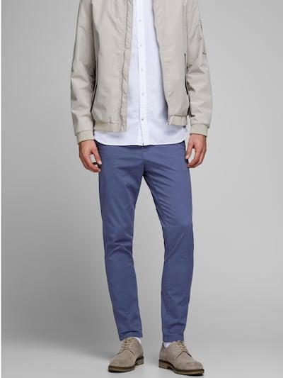 JACK & JONES Pantalón chino 'JJIMARCO' en azul, Vista del modelo