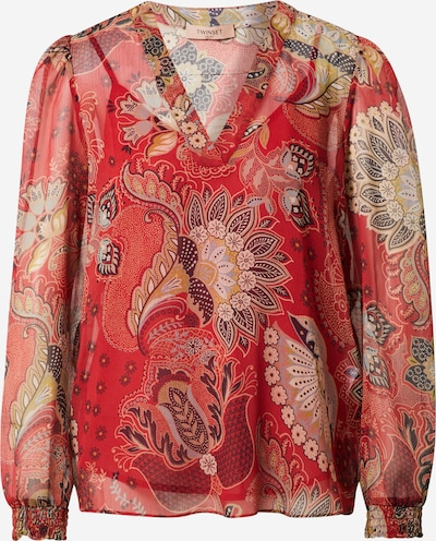 Twinset Blouse in Opal / Honey / Red / Black, Item view