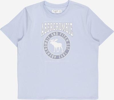Abercrombie & Fitch T-Shirt in taubenblau / hellblau / weiß, Produktansicht