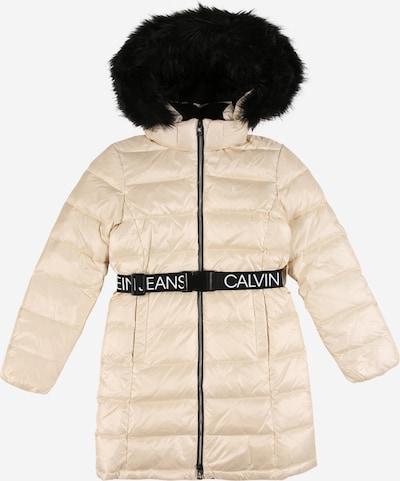 Paltas 'ESSENTIAL' iš Calvin Klein Jeans , spalva - smėlio / juoda / balta, Prekių apžvalga