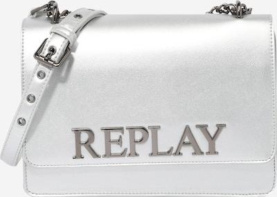 REPLAY Чанта за през рамо тип преметка в сребърно, Преглед на продукта