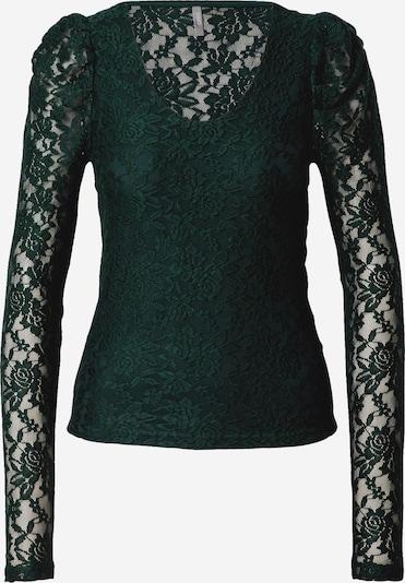 ONLY Shirt 'Poula' in dunkelgrün, Produktansicht