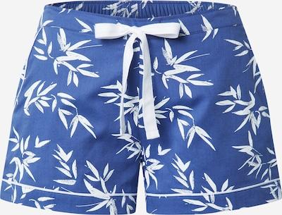 Cyberjammies Pyjamashorts 'Libby Bamboo' in blau / weiß, Produktansicht