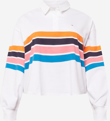Tommy Jeans Curve Shirt in Wit