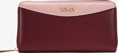 L.CREDI Brieftasche 'GERTRUDIS' in rot, Produktansicht
