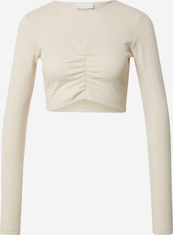 LeGer by Lena Gercke Shirt 'Emina' in Beige