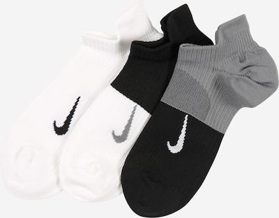 NIKE Športové ponožky 'Everyday Plus Lightweight' - sivá / čierna / biela, Produkt