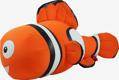CuddleBug Reisekissen Pluche Travel pillow Clownfish in rot, Produktansicht