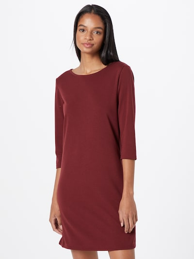 ONLY Kleid in dunkelrot, Modelansicht