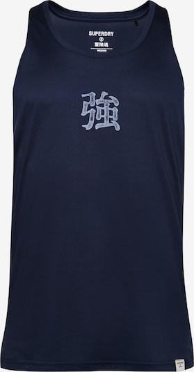 Superdry Functioneel shirt in de kleur Marine, Productweergave