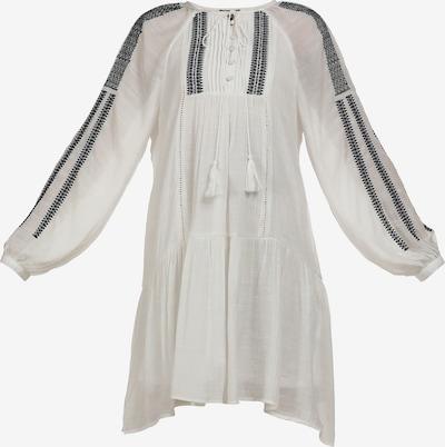DreiMaster Vintage Kleid in schwarz / wollweiß, Produktansicht