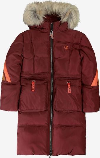 JETTE BY STACCATO Wintermantel in braun / orange / merlot, Produktansicht