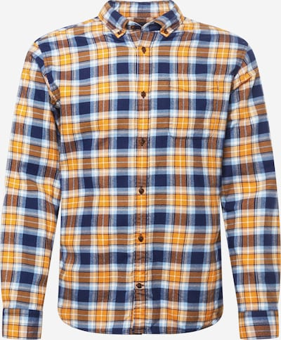 JACK & JONES Button Up Shirt in Blue / Yellow / White, Item view