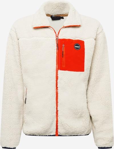 Jachetă  fleece funcțională 'ASPEN' ICEPEAK pe bleumarin / roșu orange / alb, Vizualizare produs