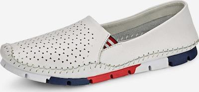 COSMOS COMFORT Slipper in dunkelblau / rot / weiß, Produktansicht