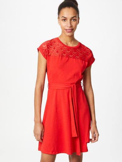 ONLY Robe 'BILLA' en rouge, Vue avec modèle