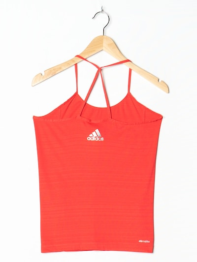 ADIDAS Tank-Top in S-M in rot, Produktansicht