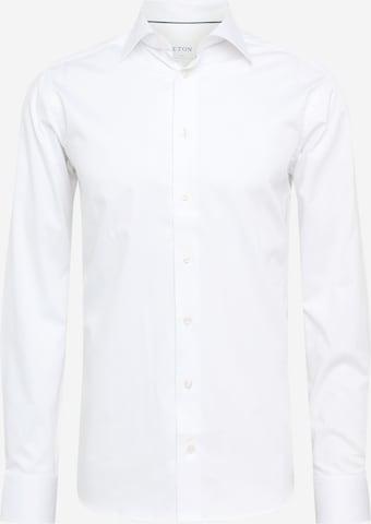 ETON Hemd 'Twill Stretch' in Weiß