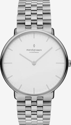 Nordgreen Uhr in silber / weiß, Produktansicht