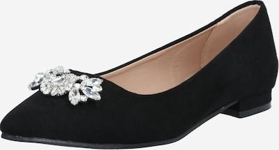 Dorothy Perkins Ballerina in de kleur Zwart / Zilver, Productweergave