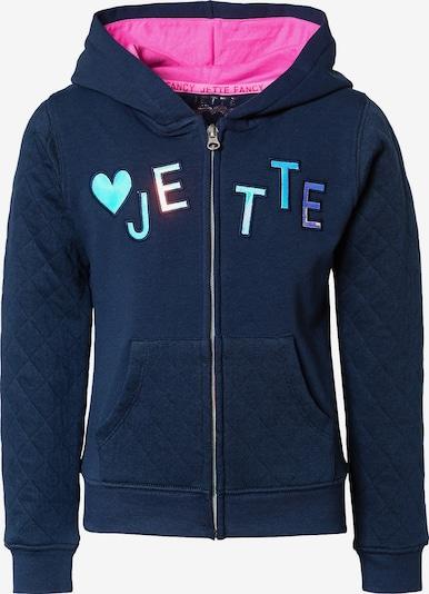 JETTE BY STACCATO Sweatshirt in dunkelblau / mischfarben, Produktansicht