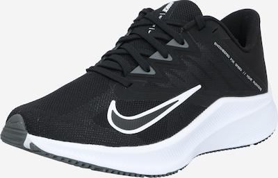 NIKE Chaussure de sport 'Wmns Quest 3' en gris / noir / blanc, Vue avec produit