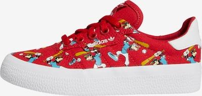 ADIDAS ORIGINALS Sneakers 'Goofy' in de kleur Lichtblauw / Sinaasappel / Donkerrood / Zwart / Wit: Vooraanzicht