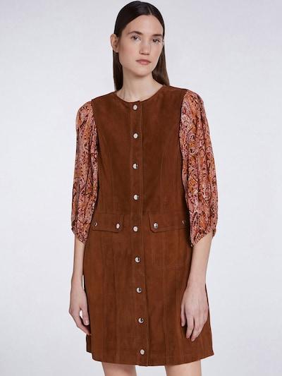 SET Šaty - hnědá, Model/ka