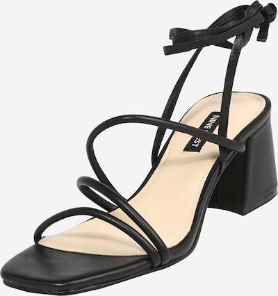 Nine West Sandale 'WNGORG' in schwarz, Produktansicht