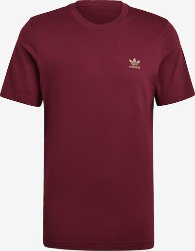 ADIDAS ORIGINALS T-Shirt in puder / weinrot, Produktansicht