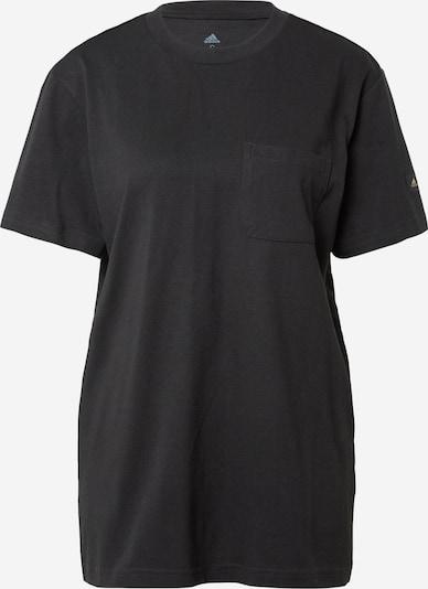 Tricou funcțional 'MARIMEKO' ADIDAS PERFORMANCE pe auriu / negru, Vizualizare produs