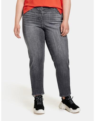 SAMOON Jeans in dunkelgrau, Modelansicht