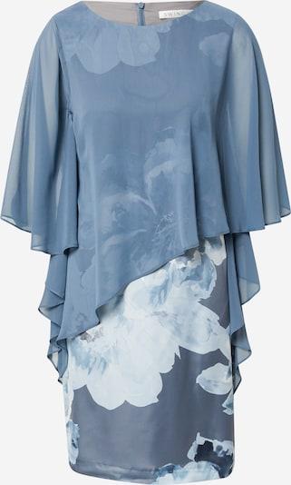 SWING Kleid in navy / rauchblau / hellblau, Produktansicht