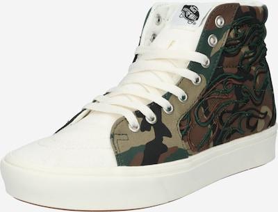 Sneaker alta 'UA ComfyCush SK8' VANS di colore marrone / verde / cachi / offwhite, Visualizzazione prodotti