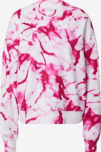 Calvin Klein Jeans Sweatshirt in pink / karminrot / weiß, Produktansicht