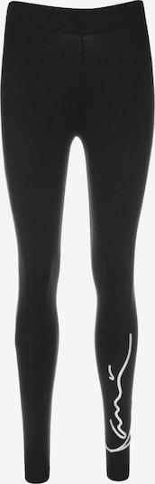 Karl Kani Leggings 'Signature' in schwarz / weiß, Produktansicht