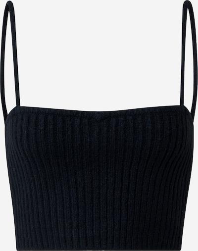 Pepe Jeans Gebreide top 'Dorothea' in de kleur Zwart, Productweergave