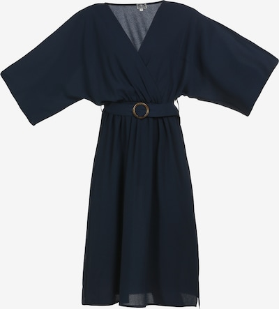DreiMaster Maritim Robe d'été en bleu, Vue avec produit