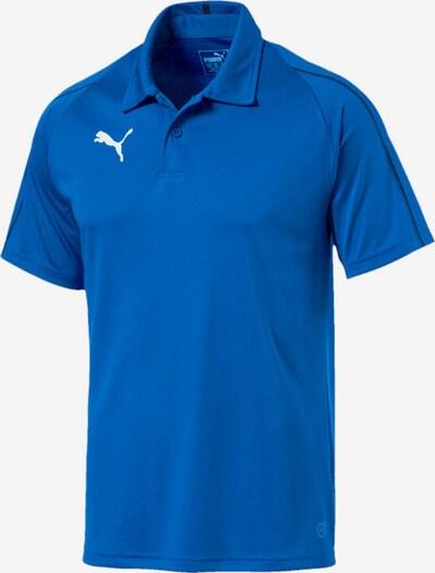 PUMA Poloshirt in blau / weiß, Produktansicht