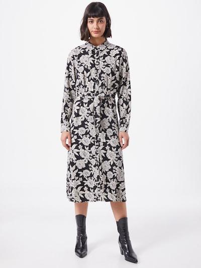 Palaidinės tipo suknelė 'BARCELONA' iš JACQUELINE de YONG , spalva - juoda / balta: Vaizdas iš priekio