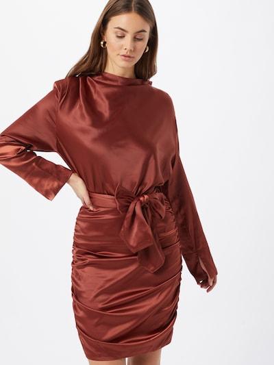 Gina Tricot Kleid 'Irma' in rostrot, Modelansicht