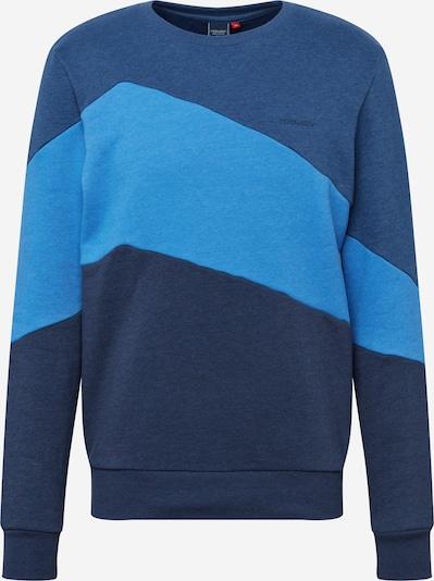 Ragwear Sweatshirt 'TRIPSY' i dueblå / lyseblå / mørkeblå: Frontvisning