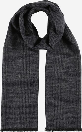 JACK & JONES Écharpe en gris foncé / noir, Vue avec produit