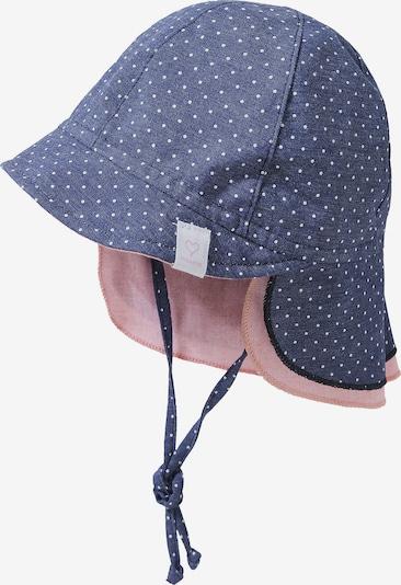 MAXIMO Schirmmütze in blau / altrosa, Produktansicht