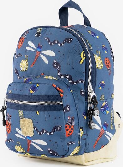 Pick & Pack Rucksack 'Insect' in rauchblau / mischfarben, Produktansicht