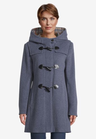 GIL BRET Wintermantel in dunkelblau, Modelansicht